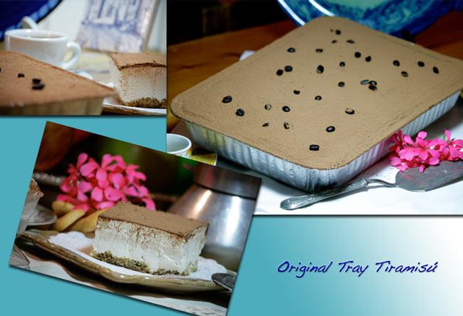 Original Tray Tiramisú